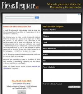 piezasdesguace.net