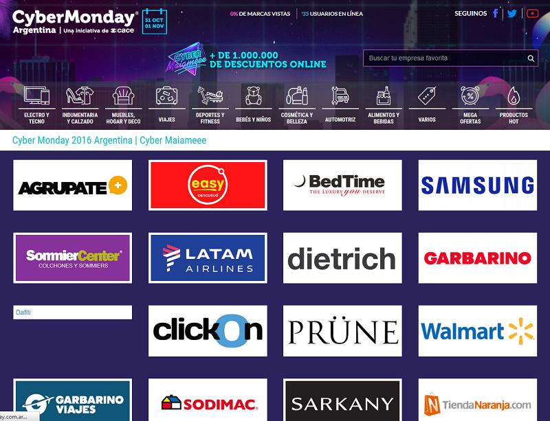 El cyber monday en la argentina grandes oportunidades y Cyber monday 2016 argentina muebles